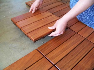 Oudoor Flooring Product sales for DIY