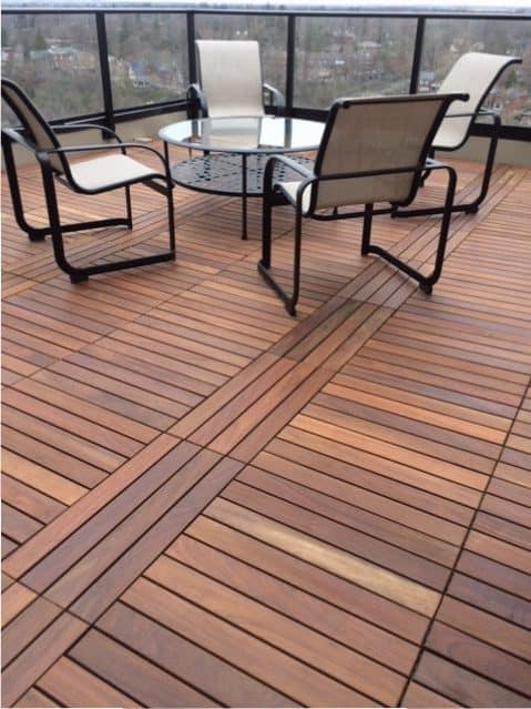 Ipe Wood Outdoor Flooring products