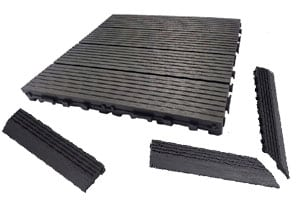 Dura Composite deck tiles