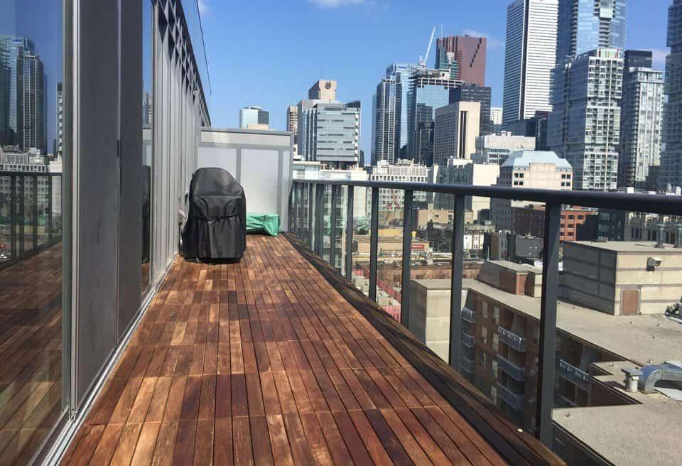 balcony flooring installation skyscapes