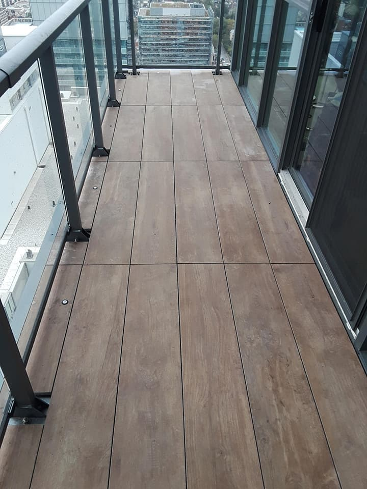 Balcony Porcelain Flooring