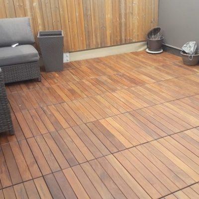 exotic wood outdoor deck tile patio