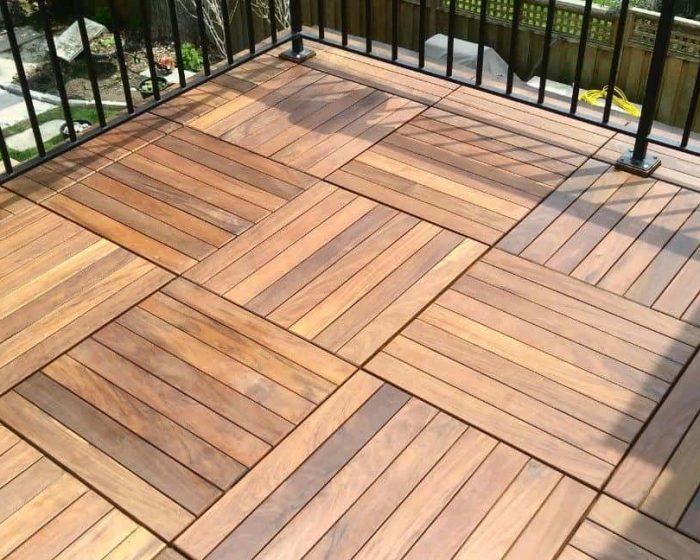 ipe exotic wood paver tiles - 3