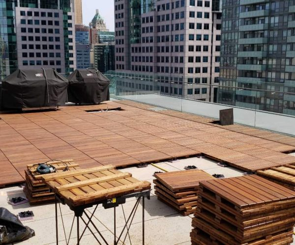 ipe exotic wood paver tiles - 5