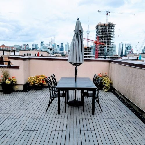 pato terrace with composite outdoor flooring flooring